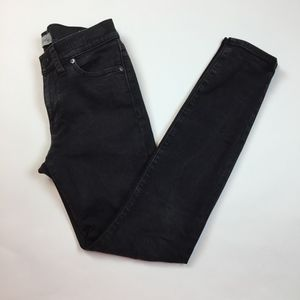 Madewell Skinny Skinny Jeans Black Stretch 27 QQ10